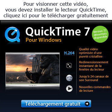 Quicktime absent