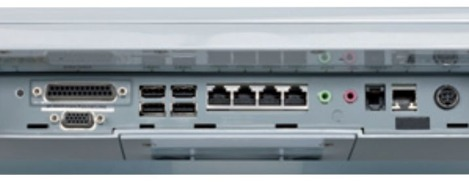 La connectique du 4POS EyePOS