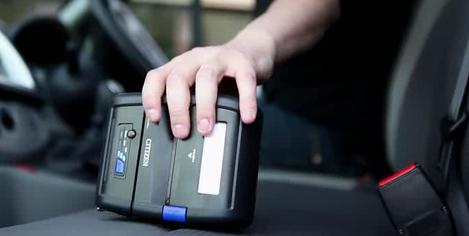 imprimante étiquette mobile