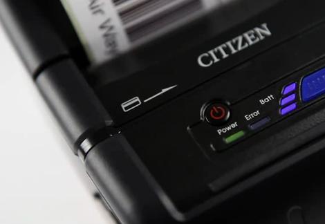 imprimante-ticket mobile avec lecteur de carte magnétique intégré