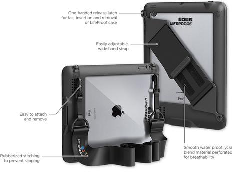 lifeproof, protection étanche pour iphone, ipad, smartphone, tablette..