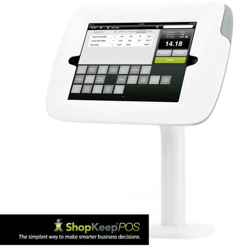 caisse enregistreuse tactile à base d'iPad et ShopKeep