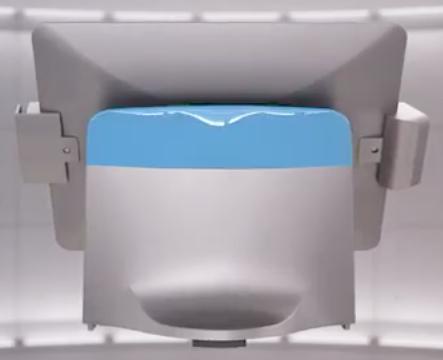 ToriPos bleu clair