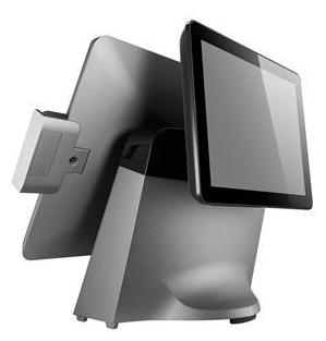Caisse enregistreuse tactile ToriPos de Poindus: écran client LCD