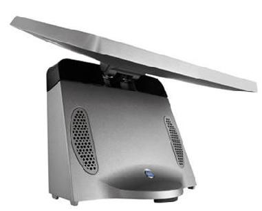 Caisse enregistreuse tactile ToriPos de Poindus: écran relevé