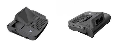 Caisse enregistreuse tactile PosBank miniOII en noir