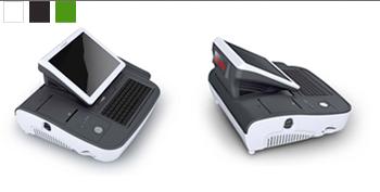 Caisse enregistreuse tactile PosBank miniOII