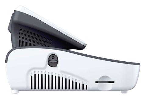 caisse enregistreuse tactile avec lecteur de carte comptact flash