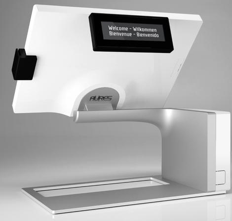Sango d'Aures Technologies: Une caisse enregistreuse tactile!