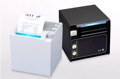 Imprimante-ticket Seiko SII RP-E10: blanc et noir