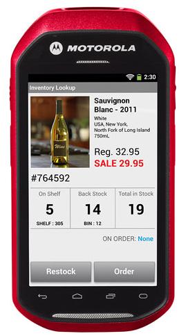 Motorola MC40: PDA tactile Android pour le commerce