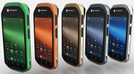 Les couleurs du Motorola MC40