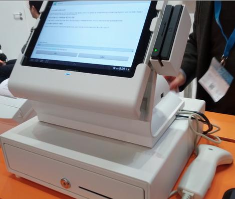 Bixolon BDS-100: caisse enregistreuse avec tablette tactile Android standard!