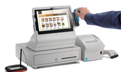 Bixolon BDS-100 avec imprimante-ticket, lecteur de carte magnétique...