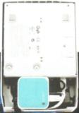 Imprimante-ticket Star de dos, avec le routeur intégré dans la réserve des câbles