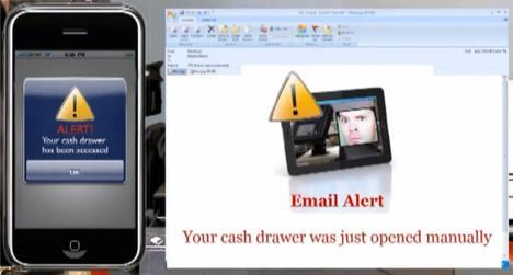 Envoi d'alerte à travers le réseau par le NetPRO