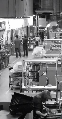 Usine de fabrication de tiroirs-caisses d'APG au Minnesota (USA)