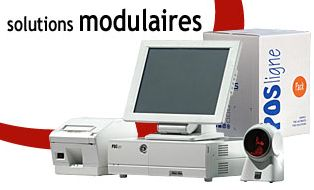 Solution modulaire de caisse Aures Technologies