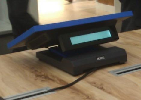 Caisse tactile Ninô, d'Aures Technologies