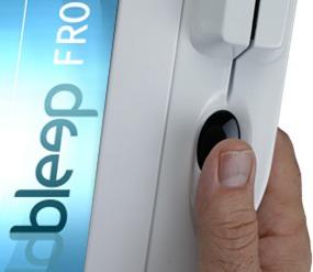 Lecteur biométrique sur le Bleep TS-915