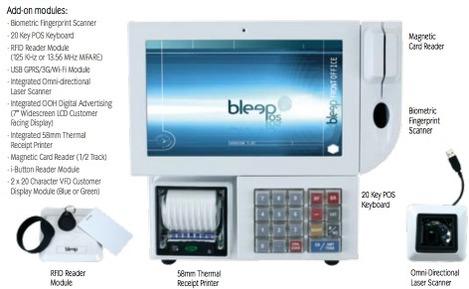 Bleep TS et ses modules intégrés