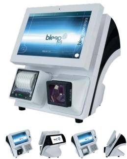 Bleep TS-910 avec imprimante-ticket et scanner intégrés