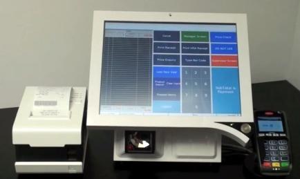 Bleep TS-915 avec imprimante-ticket externe