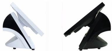 Bleep TS-915: noir et blanc, de profil