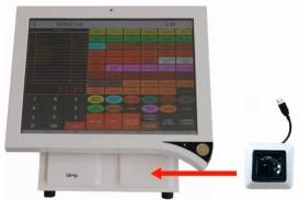 Bleep TS-915 avec scanner code-barre intégré