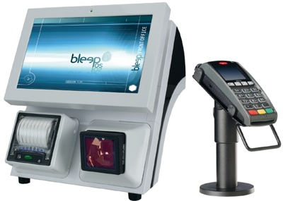 Bleep TS-910 et lecteur CB Ingenico (TPE)