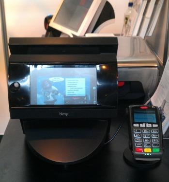 Bleep TS-910 noir avec écran client couleur et TPE