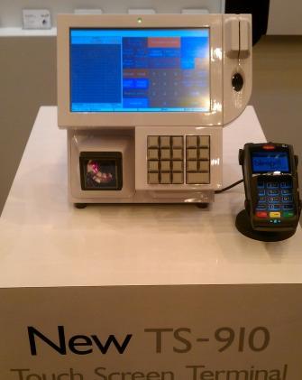 Bleep TS-910 avec scanner et clavier intégrés