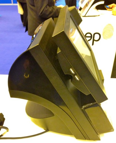 Bleep TS-910 de profil, noir