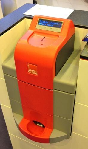 caisse automatique Cashguard