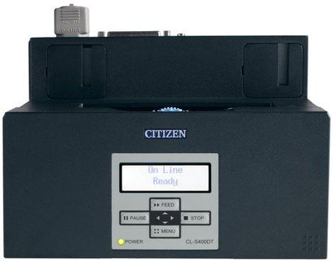 Ecran LCD de l'imprimante Citizen