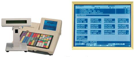 C.S.I. Stage L2XT avec écran tactile et afficheur-client