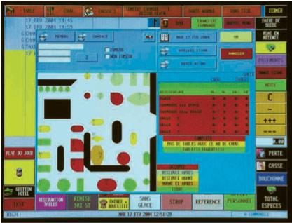 Ecran couleur du CSI Esterel 3