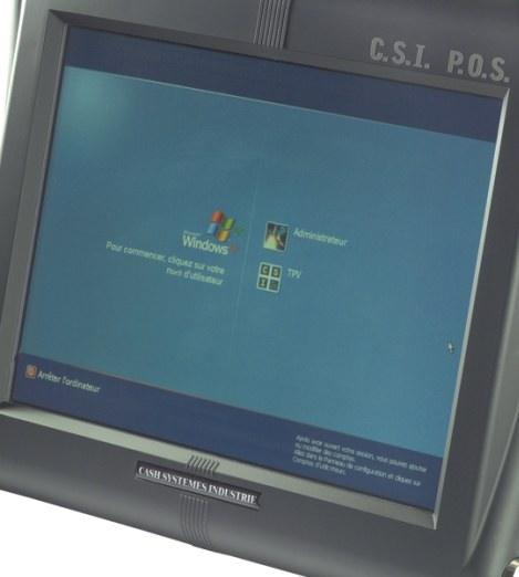 terminal point de vente C.S.I. POS