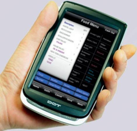 DOTEL DOT H500: PDA tactile pour le restaurant