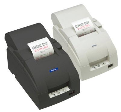 Imprimante-ticket Epson TM-U220A avec impression en deux couleurs
