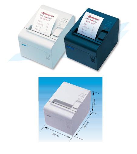 Changement de bobine de papier avec l'imprimante-ticket Epson TM-T70