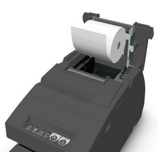 Changement de la bobine de papier d'une Epson TM-H6000III