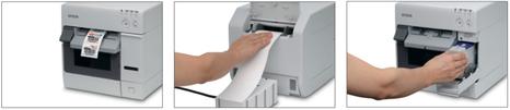 imprimante étiquette epson TM-C3400