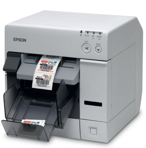Imprimante étiquettes Epson TM-C3400