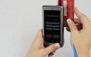 Le lecteur de carte magnétique MSR du Honeywell Captuvo SL22
