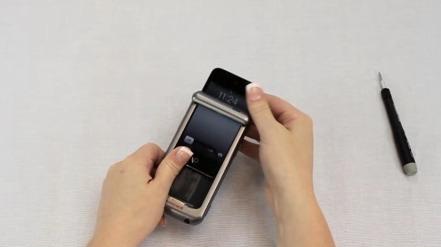 l'iPod Touch est retiré du Honeywell Captuvo SL22