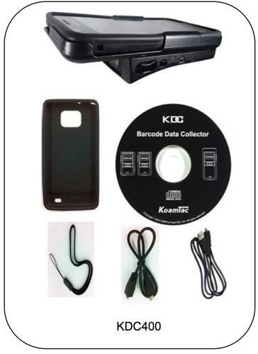 Accessoires livrés avec le KDC400 de Koamtac