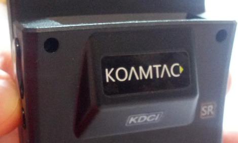 Koamtac KDC400 vu de dos