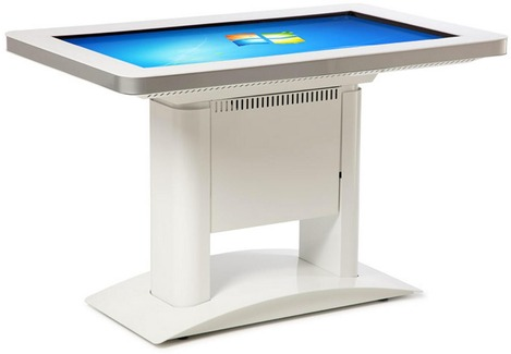 Table tactile multitouch avec Windows