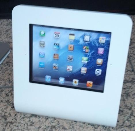 Borne tactile avec iPad